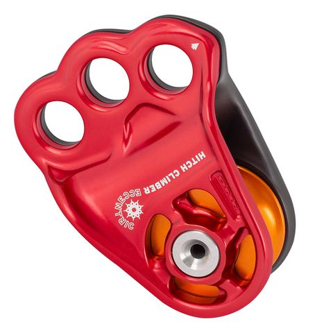 DMM Hitch Climber Eccentric Pulley - Red