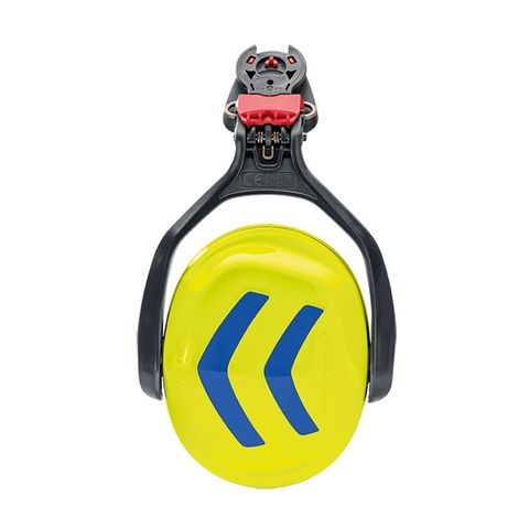 Protos Ear Protectors - Neon Yellow/Blue (single)