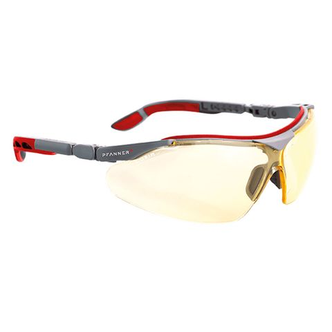 Pfanner Nexus Safety Glasses - Yellow
