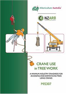 MIS307 Crane Use in Tree Work 2nd. ed - Member Price
