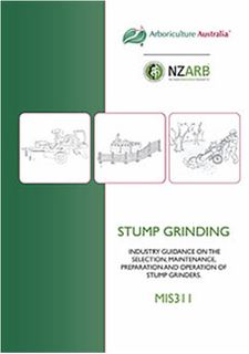 MIS311 Stump Grinding - Member Price