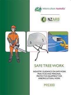 MIS300 Safe Tree Work 2nd ed. - Member Price