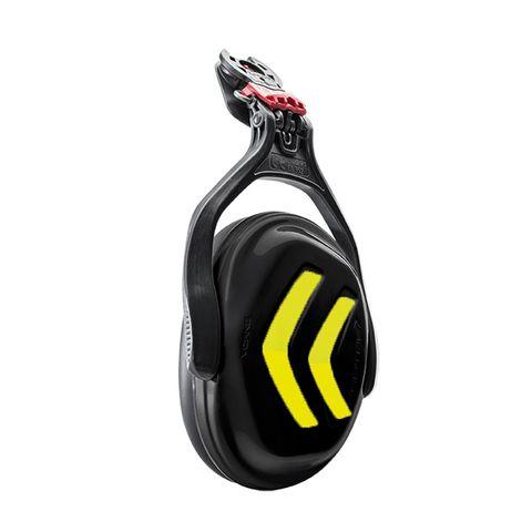 Protos Ear Protectors - Black/Neon Yellow (single)