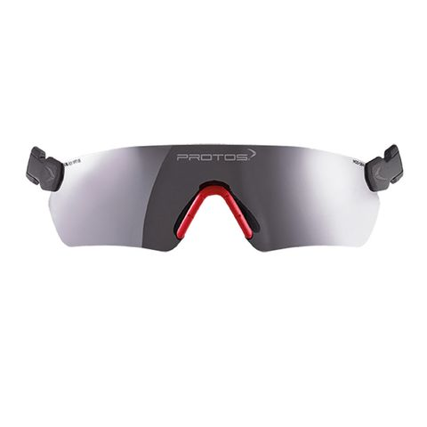 Protos Integral Safety Glasses - Grey