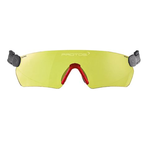 Protos Integral Safety Glasses - Yellow