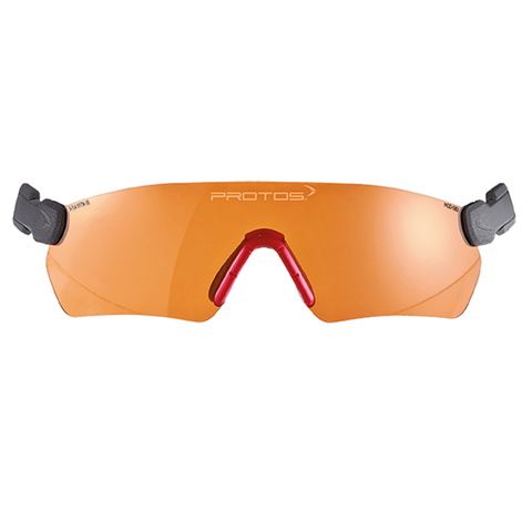 Protos Integral Safety Glasses - Orange
