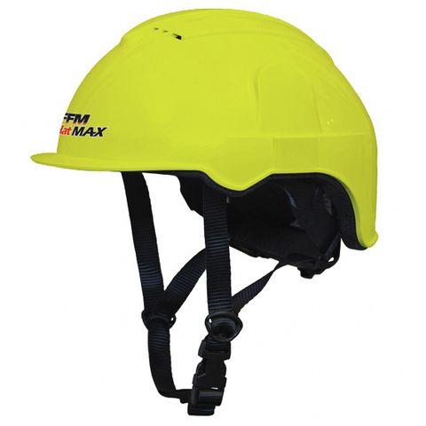 FFM AgHat MAX - ATV/Forestry Helmet  - Fl Yellow