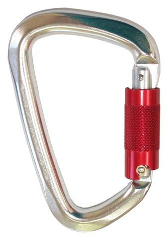 CT Carabiner-Offset D Shape Triple Lock
