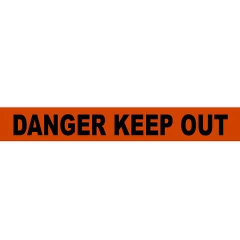 Danger Keep Out Tape