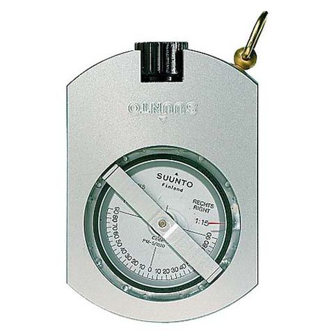 Suunto Metric Clinometer - Degree & Percentage