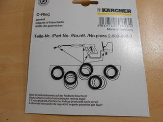 Spare part set O-Ring  5x -Kaercher