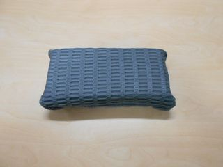 BLACK DOGBONE MICROFIBRE WITH MESH ON ONE SIDE