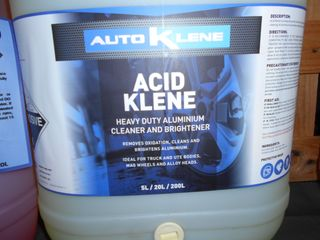 ACID KLENE 20L Beware Contains HF