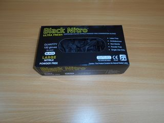 BLACK NITRO NITRILE LARGE 100