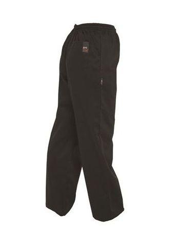 Prochef Drawstring Chef Pants Black Poly/Cotton
