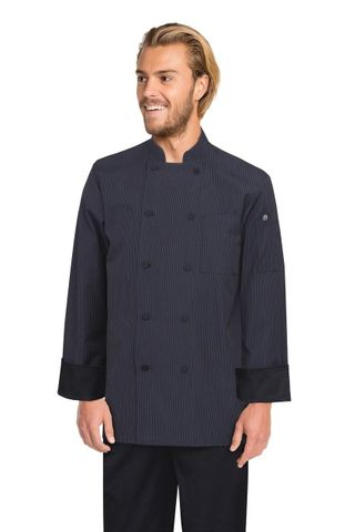 Carlisle Executive Fine Stripe Chef Coat