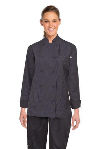 Carlisle Womens Executive Fine Stripe Coat