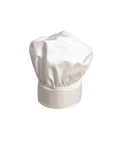 Chefs Hat White P/C Adjustable Head Band