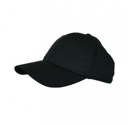 Black Cool Vent Baseball Cap