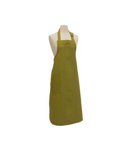 Bistro Bib Apron with Buckle - Green