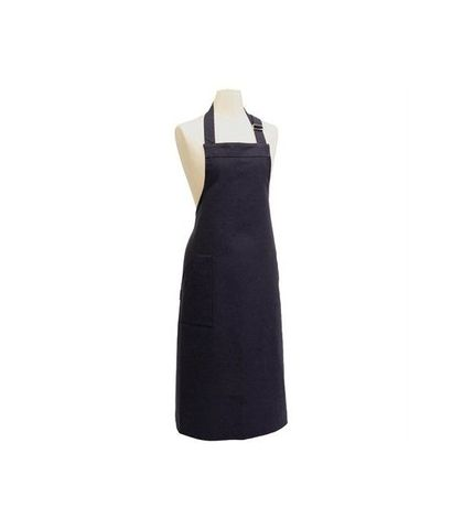 Bistro Bib Apron with Buckle - Navy