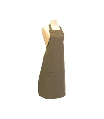 Bistro Bib Apron with Buckle - Olive
