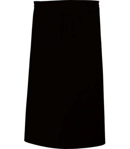 3/4 Waist Apron - Black