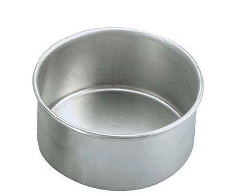 Cake Pan Round Aluminium 250x75mm