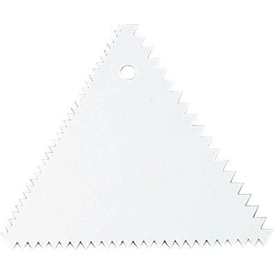 Triangular Decorating Comb Polypropylene