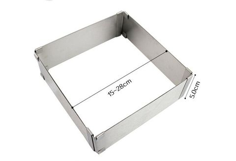 Adjustable Rectangle Frame for Cake 50mm-275mm