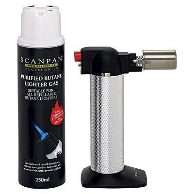 Scanpan Classic Chef's Torch with Butane Gas 250Ml