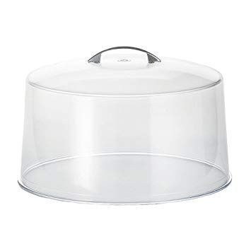 Cake Cover with Chrome Handle