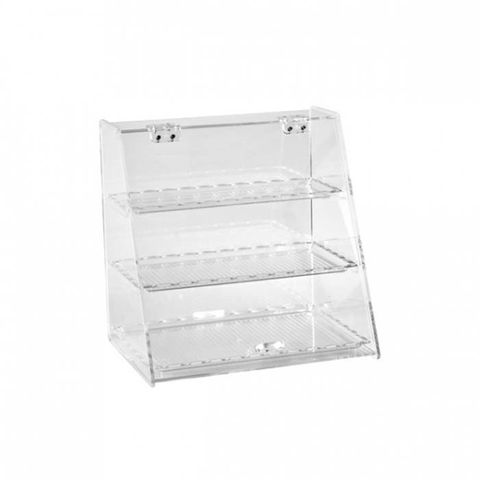 Display Cabinet With 3 Trays 250x340x340mm