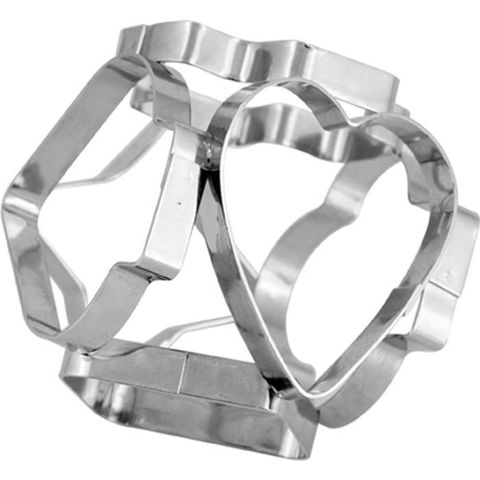 Multi Sided Cookie Cutter S/S - 55mm