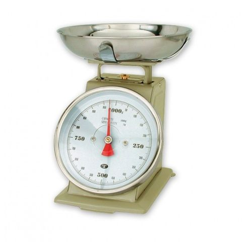 Portion Scale Grey Enamel Body -1KGx5g