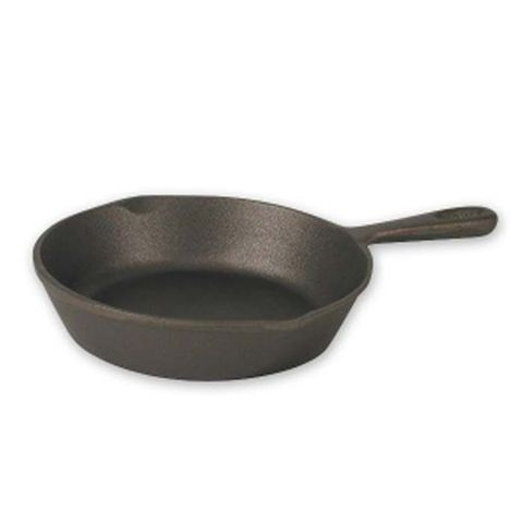Round Skillet - Plain Cast Iron 200mm