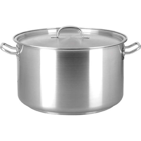 Elite 22lt Saucepot with Lid 18/10 - 360x220mm