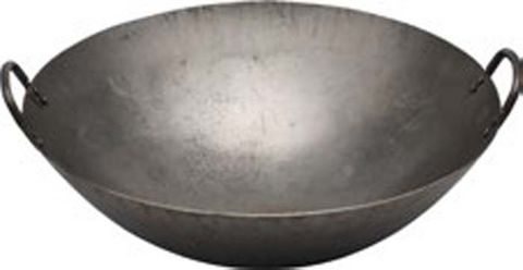 Hand Hammered Asian Wok Iron 430mm