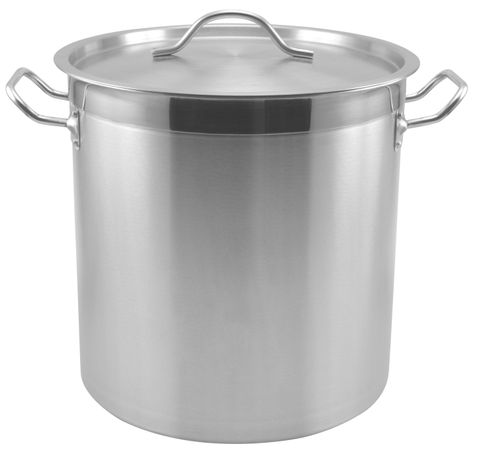 36L Genware Stainless Steel Stockpot 360x360mm