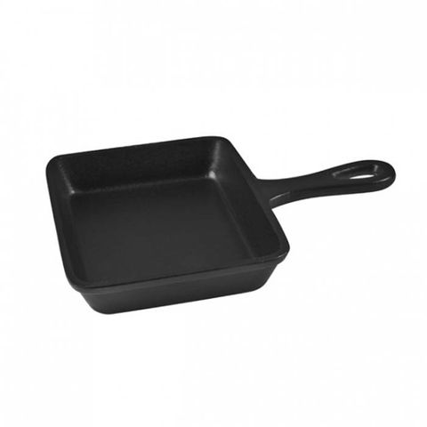 PUJADAS Mini Square Cast Iron Frypan 136x136mm