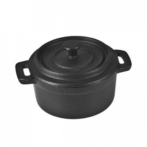 PUJADAS Mini Round Cast Iron Casserole 100mm