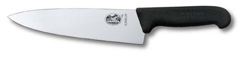 Victorinox Carving Knife with Extra Broad Blade 20cm -  Black