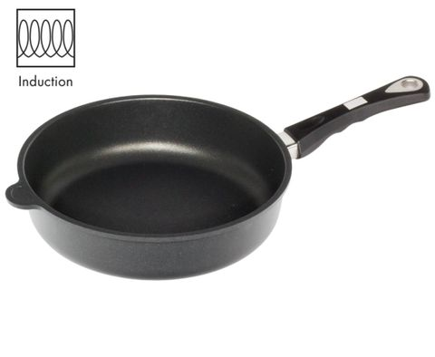 AMT Induction Braise Pan 28cm, H:7cm (Detachable Handle)
