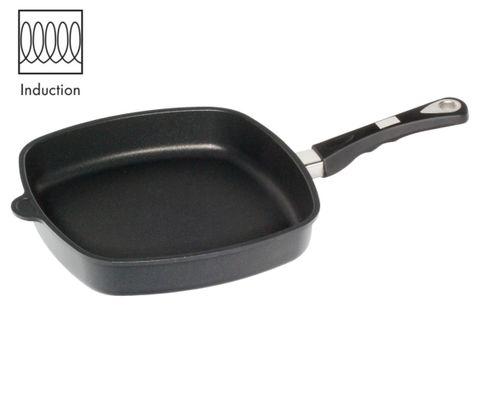 AMT Induction Square Pan 28x28cm, H:5cm (Detachable Handle)