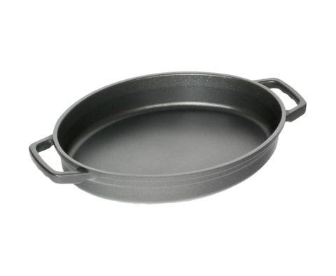 AMT La Cocotte Roasting Dish 32x25cm, H:6cm (Casted Side Handles)