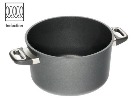AMT Induction Pot 28cm, H: 16cm (Standard Side Handles)