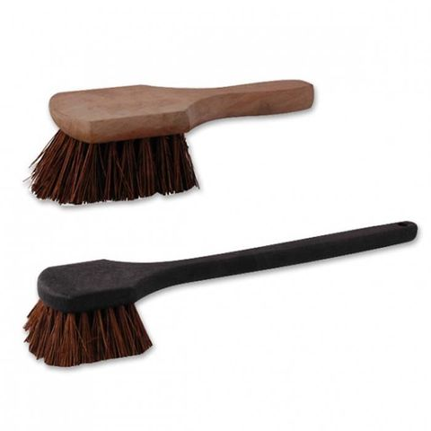 Pot Brush with Black Handle 215mm