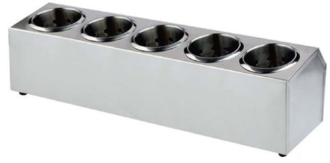 Cutlery Holder S/S 505x150x180mm (5 in a row)