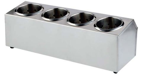 Cutlery Holder S/S 505x150x180mm (4 in a row)