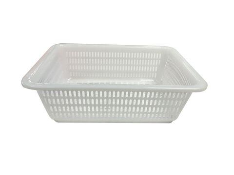 Plastic Colander Rectangular 360x270x100mm White